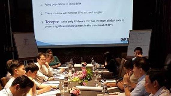 Renova training in Thailand